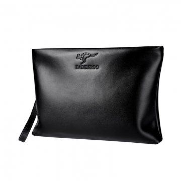 FH Brand  Man's leather handbag with a large leather bag. one color one size