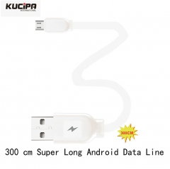 FH Brand Kucipa 300 cm Super Long Android\IOS  data Cables Android