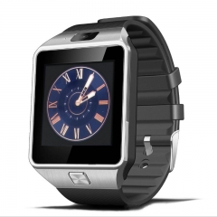 FH Brand Touch Screen Smart Bluetooth Watches infinix MP3+ Music + Call + TF+ Photo. Black DZ09