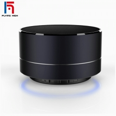 FH Brand Wireless Bluetooth SD/TF Metal Mini Sound Box Subwoofer Phone/Computer/ Laptop Speaker Black 10 M