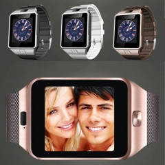 FH Brand Touch Screen Smart Bluetooth Watch infinix MP3+ Music + Call + TF+ Photo. brown one size