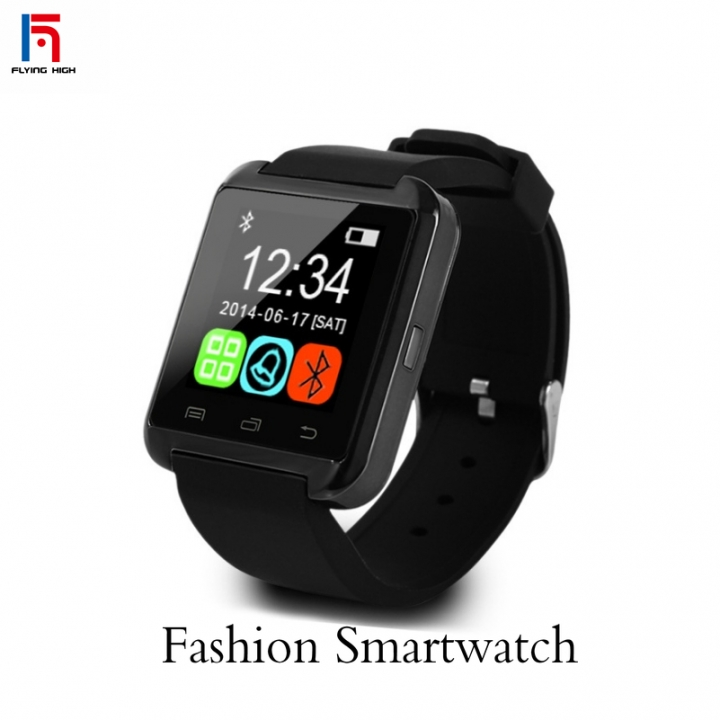 FH Brand Bluetooth Smart Watches Phone Health Wearable Device  Answer and Dial the Phone black one size