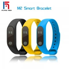 FH Brand M2 Smart Band Compatible  IOS&Adroid Bluetooth4.0 Waterproof Smart Watches  standby 240h yellow one size