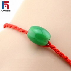 FH Brand Fashion Bracelet Red Rope Bangle Lucky Bracelets for Women&Men  Handmade Lucky Jewelry 20cm Red 20cm