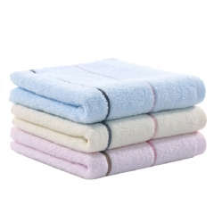 FH 3 Pck Microfiber Face Towels Pure Cotton /Soft /Highly Absorbent  Home Living Bathroom Products random one size