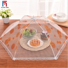 FH Brand Foldable Mesh Screen Food Cover , Collapsible  Food Cover,Keep Out Flies, Bugs, Mosquitoes one big