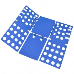 FH Brand shirt folding board t shirts folder easy and fast for kid to fold clothes blue