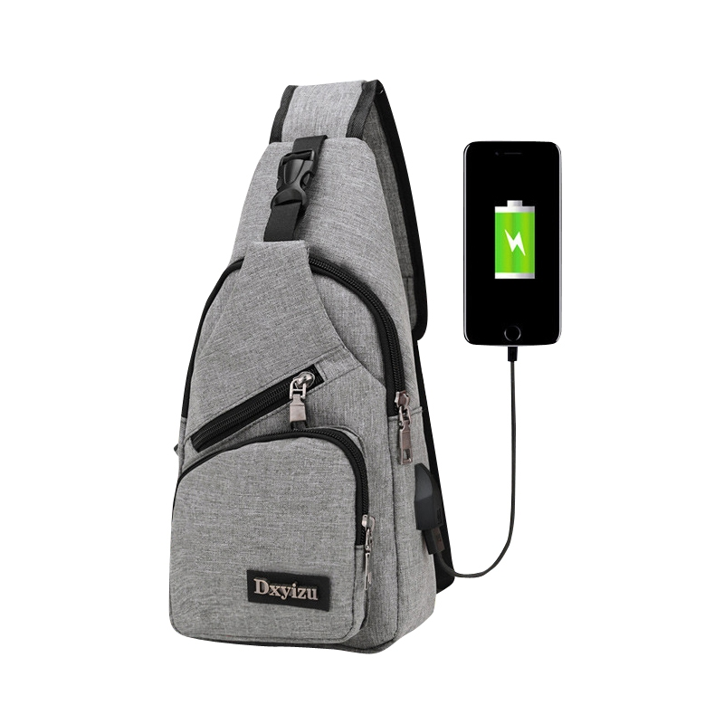 ae7267a6b56a FH Brand USB Charging Leisure Rucksack Messenger Bags Sport shoulder bag  for men and women Gary 32 16 7  Product No  1947376. Item specifics  Brand   FH
