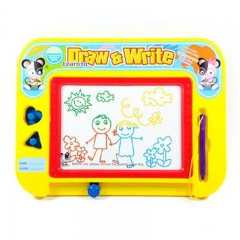 FH Brand  Colorful Magnetic Writing Board Toys, Kid Painting Board For Hobbies Cultivation Yellow 29.5*21.5cm
