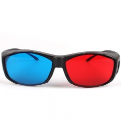 FH Brand  3D Red And Blue Glasses  Suitable for Myopia Colorful 15.5*4.1cm
