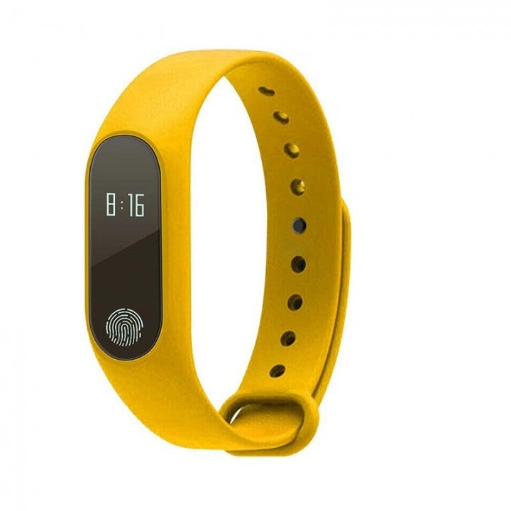 FH Brand M2 Smart  Bracelet Compatible IOS&Adroid Bluetooth4.0 Waterproof Smart Watches standby 240h yellow one size