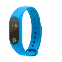 FH Bluetooth 4.0 Smart Bracelet Compatible IOS&Android  Waterproof Smart Watches Standby 240h blue one size