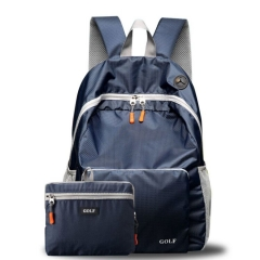 FH GOLF High Quality Folding Waterproof Briefcases  Laptop Womens Bags  Ultra Light Outdoor Backpack Dark Blue 40X28X15cm