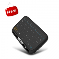 FH Backlit USB Wireless Touch Keyboard Mouse Rechargeable Remote Control for Windows Computer PC/TV