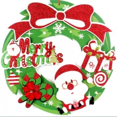 FH Brand Christmas Decoration Stickers Apply to Home Windows Hotel Event /Party Supplies Accessories random one size