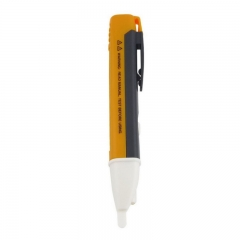 FH  Lot Fancy Non-Contact Voltage Detector Electric Tester Pen with LED Light (Battery NOT Included) Yellow 90-1000V AC