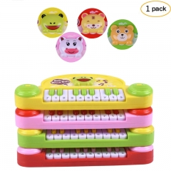 FH Brand Kids Musical Electronic Organ Piano Toys Baby InfantEarly Education Toys Colorful 24*7*10cm
