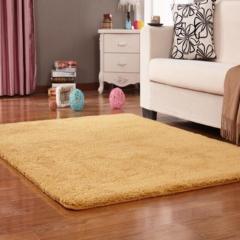 FH Lamb Rug  Anti-water/Strong Water Absorbing Floor Mat Carpet Mat Carpet For Bedroom/Living Room Khaki 60*160cm