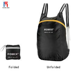 FH Brand Bags Folding  Portable  Backpack Rugged Cmpact Suitable for Home Storage and Outdoor Travel black one