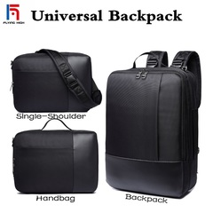 FH Brand Men's Bags Briefcase,All-purpose Business, Leisure .Single Shoulder /Shoulders/Portable Bag black one size