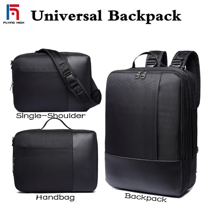 FH Brand Men's Bags Briefcase,All-purpose Business, Leisure .Single Shoulder /Shoulders/Portable Bag black one size