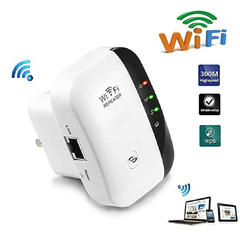 FH WiFi Range Extender/Wireless Repeater/Internet Signal Booster Amplifier 300Mbps, AP Access Point