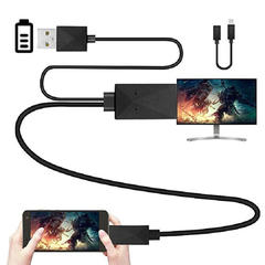 FH Brand MHL Adapter Micro USB To HDMI Converter Cable 1080P HDTV Only for Some Android Phone Models