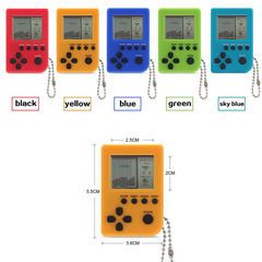 FH Brand  Mini Handheld Game Machine, Tetris Game Console Built-in 26 Games Birthday Gift for Child