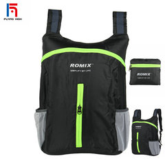 FH 18L Outdoor Bags Travel Folding Portable Backpacks Light And Durable Easy to Carry Sports bag black