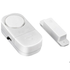 FH Wireless Magnetic Entry Alarm for Door and Window Home Security Door Window Product Burglar Alarm White