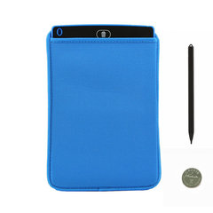 FH LCD Writing Tablet 8.5 Inch Electronic Drawing Board 1 Cover+1 Battery+1 Pen Blue