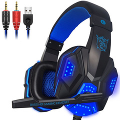 FH Gaming Headset for PS4 XBOX HD 1080 Surround Stereo Headphone Wired USB 3.5mm LED With Mic Laptop