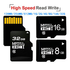 FH Original High Speed Memory Card Micro TF Card 128GB 64GB 32GB 16GB 8G 4G 2G 1G 512MB 256MB 128MB Black Z-Suit 128MB TF(micro-SD)