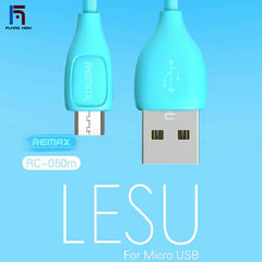 FH Brand Remax LESU Fast Charging DATA CABLE FOR Micro USB1000mm blue
