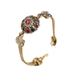 FH Lady Vintage Colorful Vintage Bracelet,Fashion Accessories  For Women Party\Business\Engagement Colorful 19cm