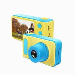 FH HD 8MP  Kids Camera Gifts, Shockproof Mini Child Camcorder Soft Silicone Shell for Outdoor Play