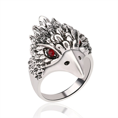 FH Fashionable Lady's Rings, Exquisite&Contracted Eagle Design Diamond Ring For Women Accessories Silver 7