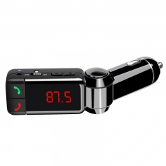 Car Bluetooth FM Transmitter Wireless Modulator USB Charger BC06 for Mobile Phone