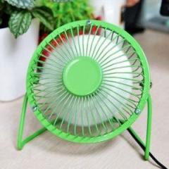 Mini Cooling Fan USB Powered Notebook Desktop cooler   C Laptop Computer Notebook Portable Green