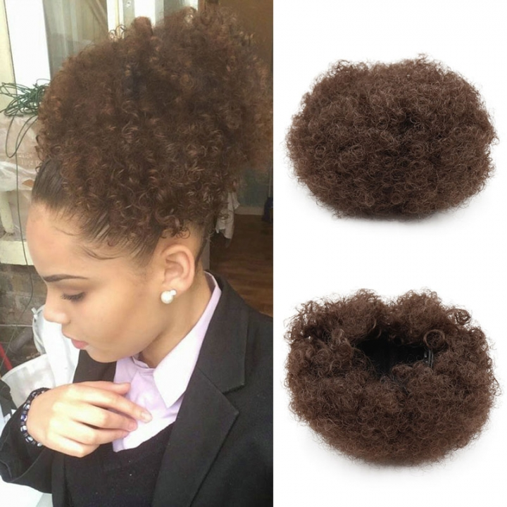 Kilimall Synthetic Curly Hair Ponytail Short Afro Kinky Curly Wrap