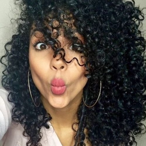 """24"""" Synthetic Wigs Black Natural Colour Heat Resistant Kinky Curly 100% Free Style with Gift natural color 24"""