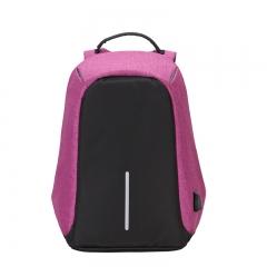 charging Men 15inch Laptop Backpacks For Teenager Mochila Leisure Travel backpack purple one size