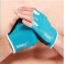 Bodybuilding, bodybuilding, thin breathable and antiskid fitness gloves for men and women blue M