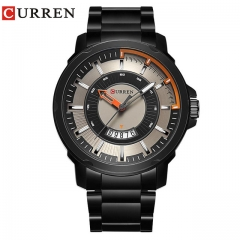 NEW CURREN watches men fashion watch quartz Business watch male men Army sports Analog Casual date green one size