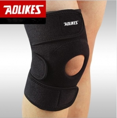 Anti skid and breathable outdoor protection for climbing knee OK black one size