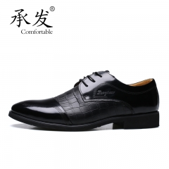 Fashion Oxford Business Men Genuine Leather Soft Casual Breathable Men's Flats Shoes yellow 36173 black 44