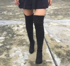 High boots Knee Boots sexy high heel black 39