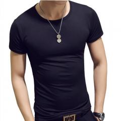 New Arrivals 2018 Fashion Men T Shirt cat Printed t-shirt Short Sleeve Casual Tops Summer Tee black xl cotton