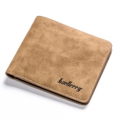 Men Wallets Card Holder Small Wallet Male Synthetic Leather Man Purse Coin Purse Men's Carteira coffee transverse