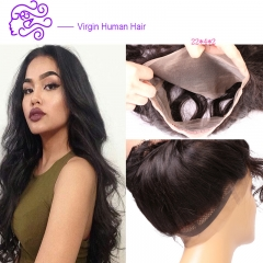 Europe and America sell Peru real hair 360 body full lace frontal lady wig 1b natural color 20.32cm